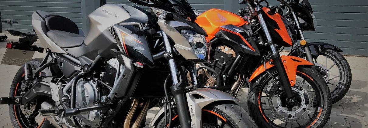 Fahrschulmotorrad